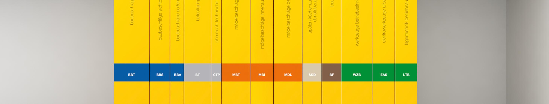 Muster, Kataloge & Broschüren