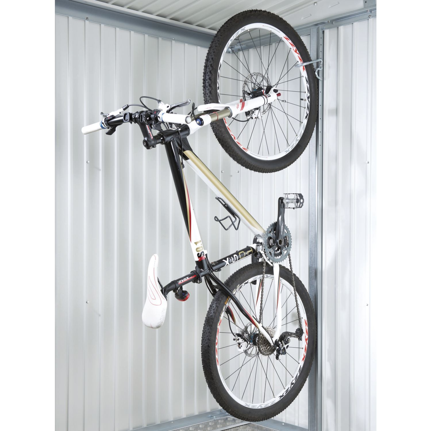 biohort fahrrad wandhalter bikemax feuerverzinkt 8 fach verstellbar 2 st ck. Black Bedroom Furniture Sets. Home Design Ideas