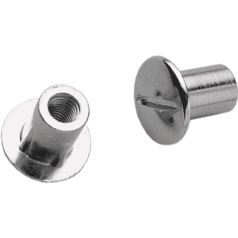 M 6x20 mm Spezialschraube SO Oval 4//5//6 Stahl vernickelt für Schrankrohrlager