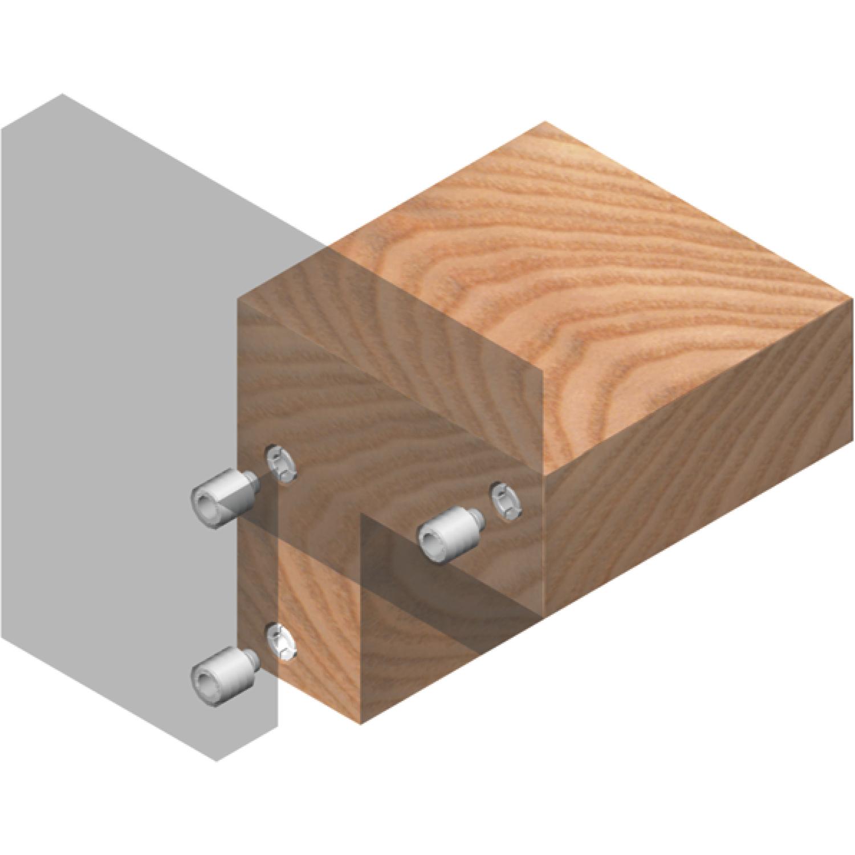 druckknopfverbinder upat f r unsichtbare verbindung von holz plattenteilen. Black Bedroom Furniture Sets. Home Design Ideas