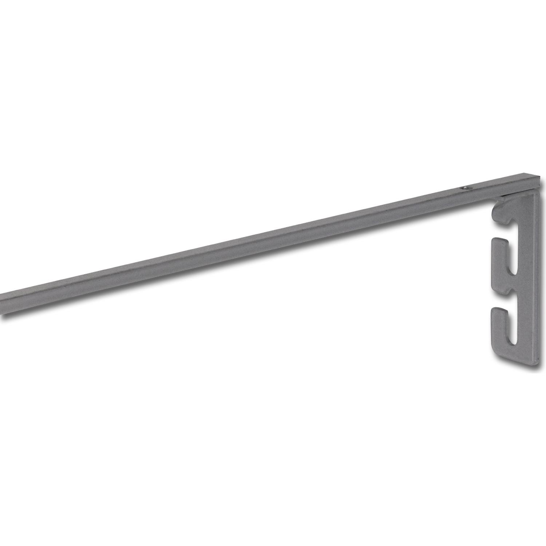 Länge 562 Herdtraverse Korpus- B 600 Stahl silber Seitenwandstärke 19