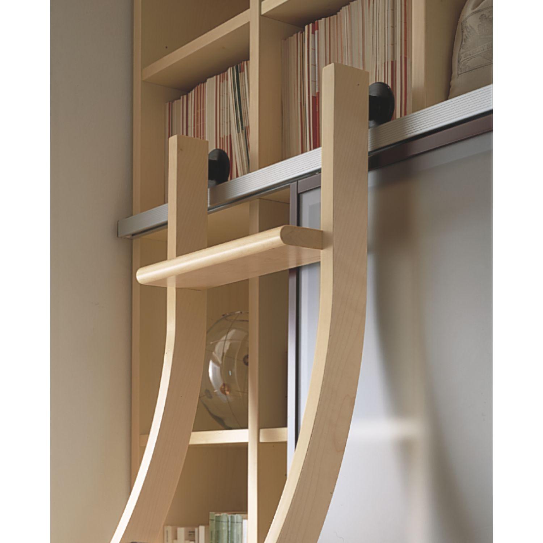 Extrêmement Scala scorrevole legno , altezza 2000 mm, legno non trattato levigato NV17