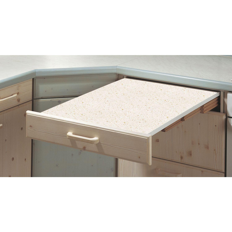 kihúzható asztal RAPID 60 fehér/szürke