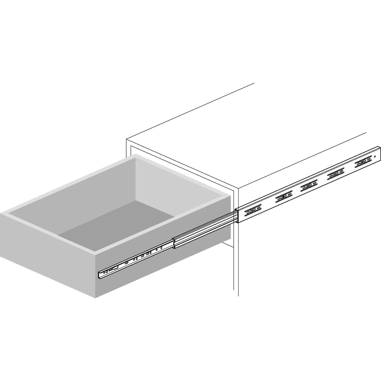 accuride 3832do kugelk figf hrung vollauszug l 650 mm. Black Bedroom Furniture Sets. Home Design Ideas