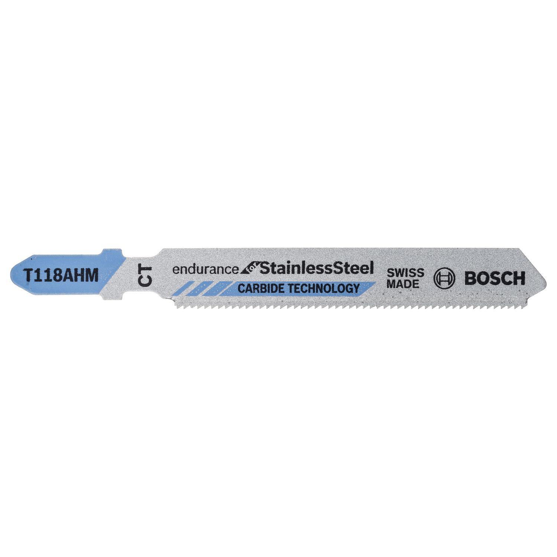 bosch stichsägeblätter t118ahm (3 st) special for inox