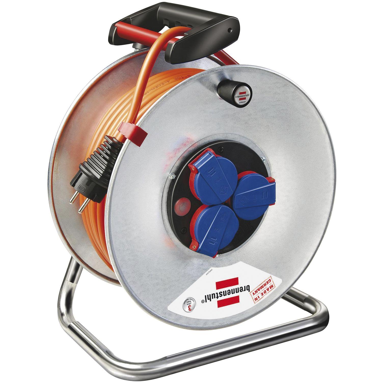 brennenstuhl kabeltrommel garant n07v3v3 k35 3g1 5 l nge 40m ip44. Black Bedroom Furniture Sets. Home Design Ideas