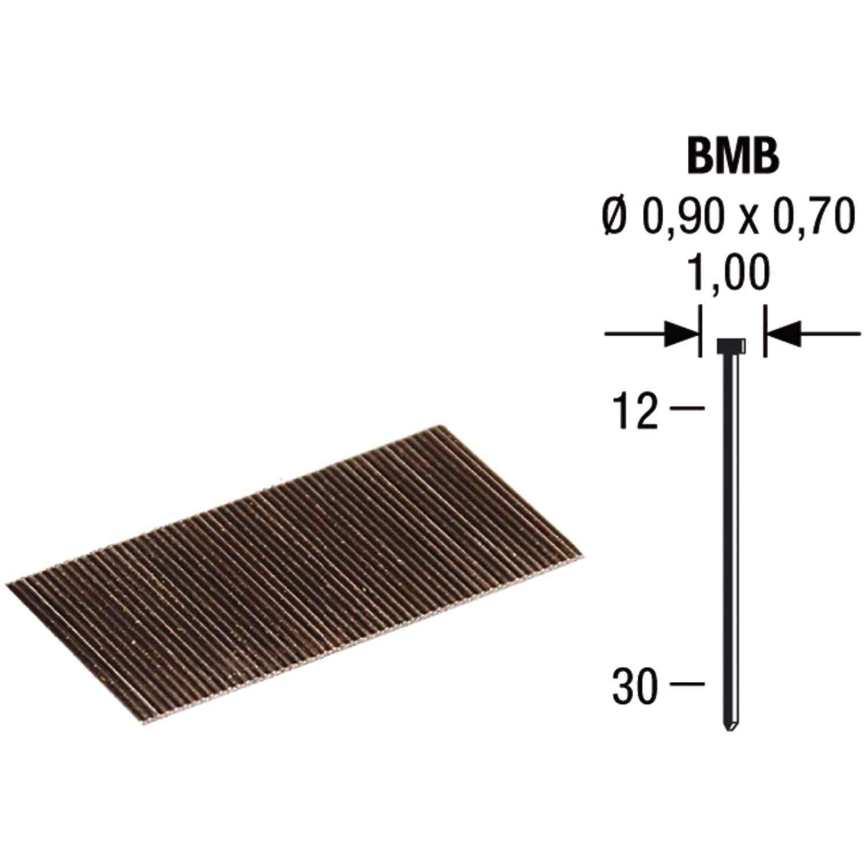 revotool stauchkopfnägel bmb 16 mm aus stahldraht verzinkt (10000 st)