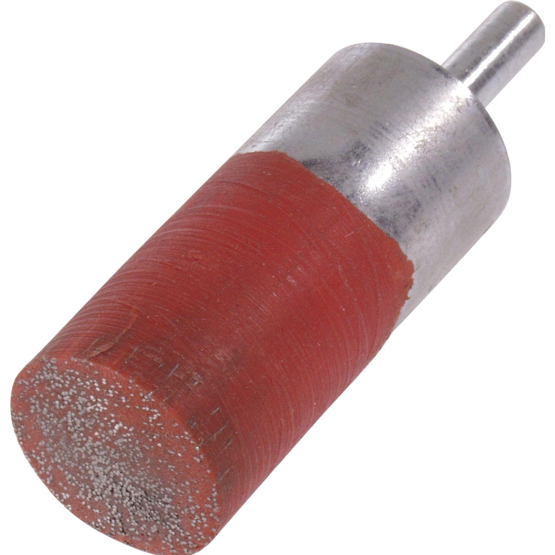LESSMANN Pinselkopfb/ürste 12 x 6 mm rostfreier Stahldraht f/ür schwer zug/ängliche Stelle