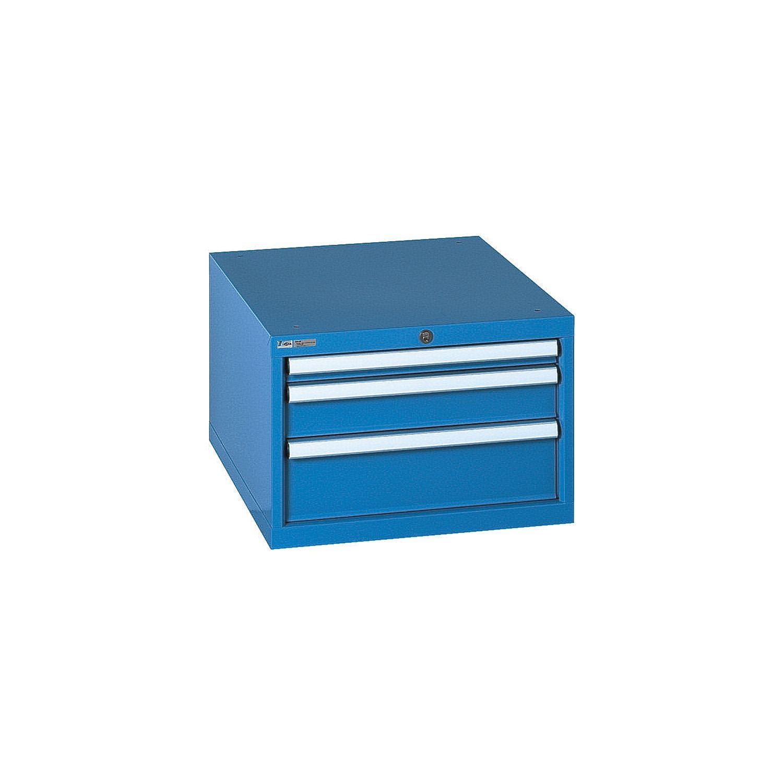 LISTA Schubladenschrank 27E x 36E Vollauszug 564x725x383 mm Schubladen 3