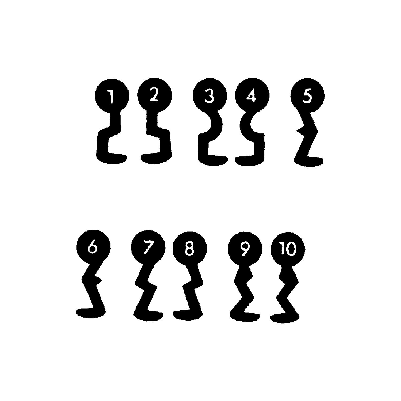 Tabelle 3 Sperre  6 Buntbartschlüssel