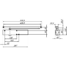 illbruck Elastozellband TN126  9x3mm 20m schwarz