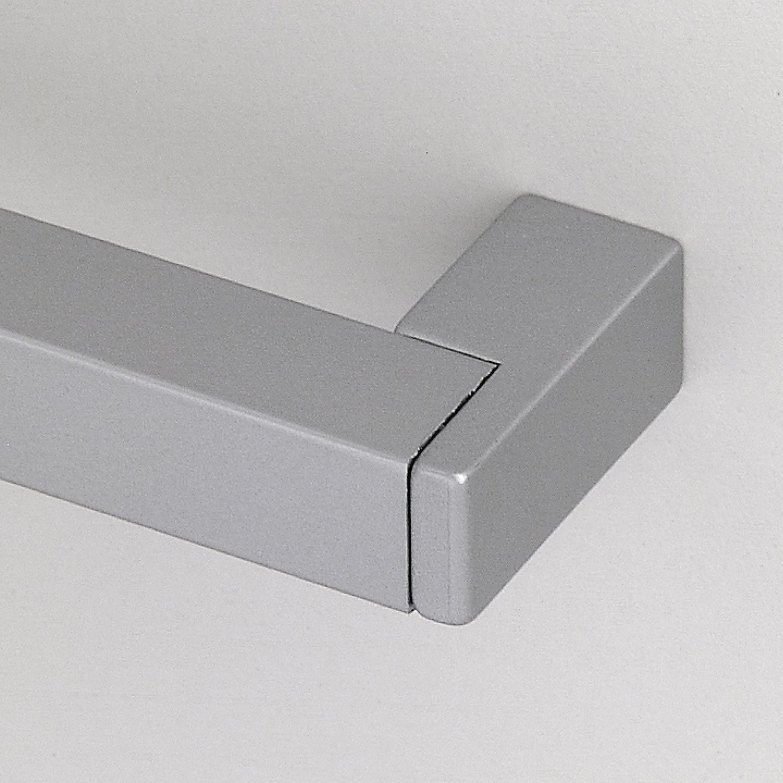 Aluminium//Zinkdruckguss natur eloxiert//alufarbig Möbelgriff Lochabstand 192 mm