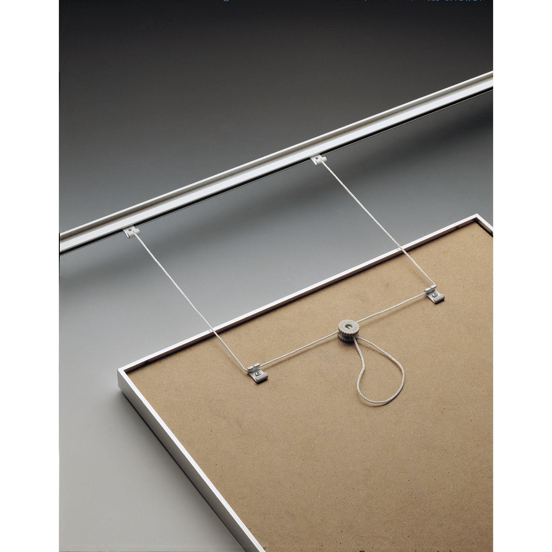 Ganci Per Appendere Quadri set appendini per quadro con cordone; portata 10 kg/ set