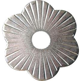 Pfettenscheibe Stahl verzinkt C ø 80x4 mm Zierrosette Bohr-ø 17 mm