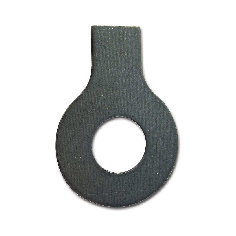 Scheiben mit Lappen DIN 93 Stahl blank