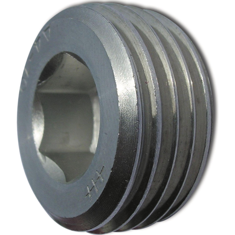 DIN 906 Verschlussschraube mit Innensechskant Rohrgewinde 1// kegliges Gewinde