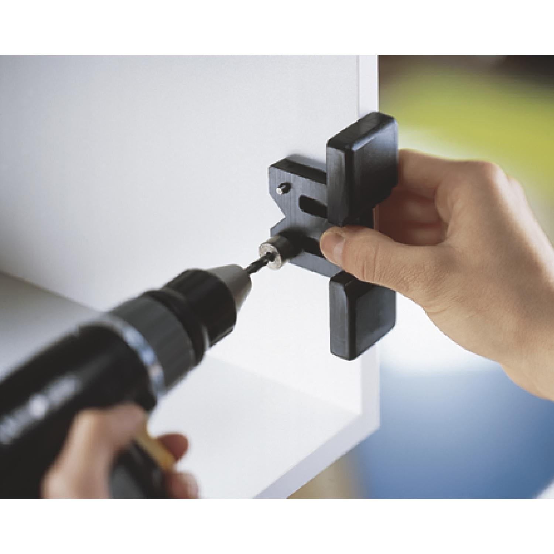 BLUM Bohrlehre für CLIP-Kreuzmontageplatten 65.5070, Stahl/Kunststoff