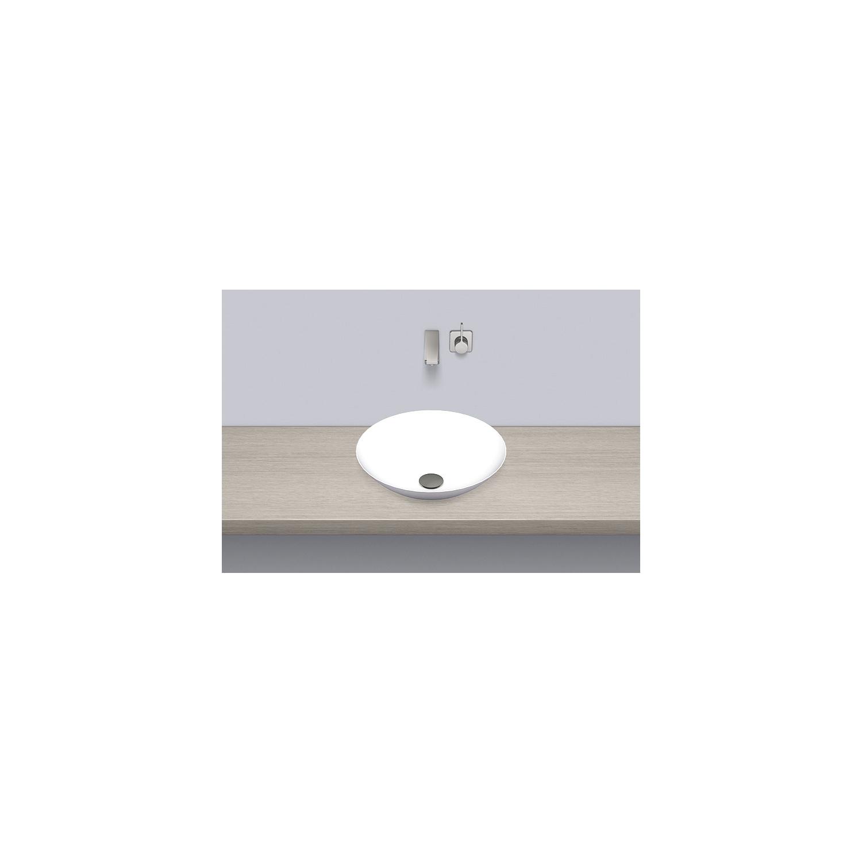 Alape Schalenbecken Sbk450gs Stahl Weiß