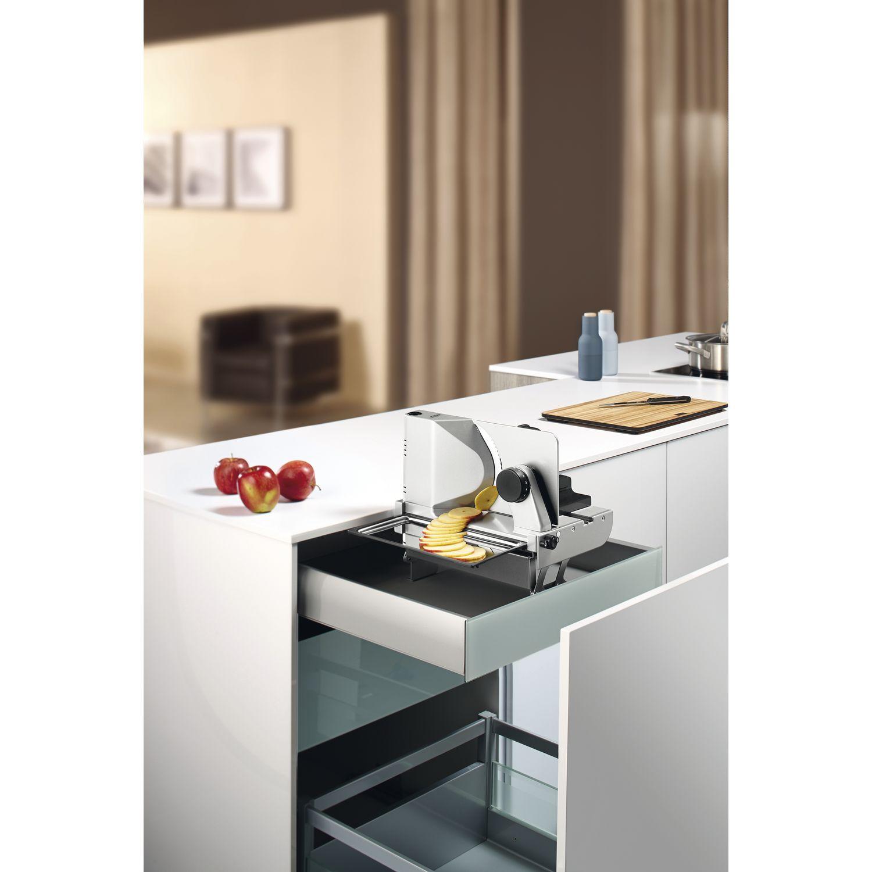 ritter metall einbau allesschneider aes 72 sr h silbermetallic rechts. Black Bedroom Furniture Sets. Home Design Ideas