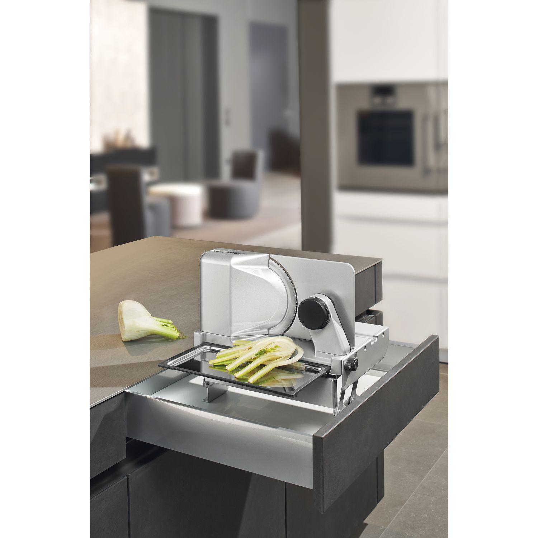 ritter metall einbau allesschneider aes 62 sr silbermetallic rechts. Black Bedroom Furniture Sets. Home Design Ideas