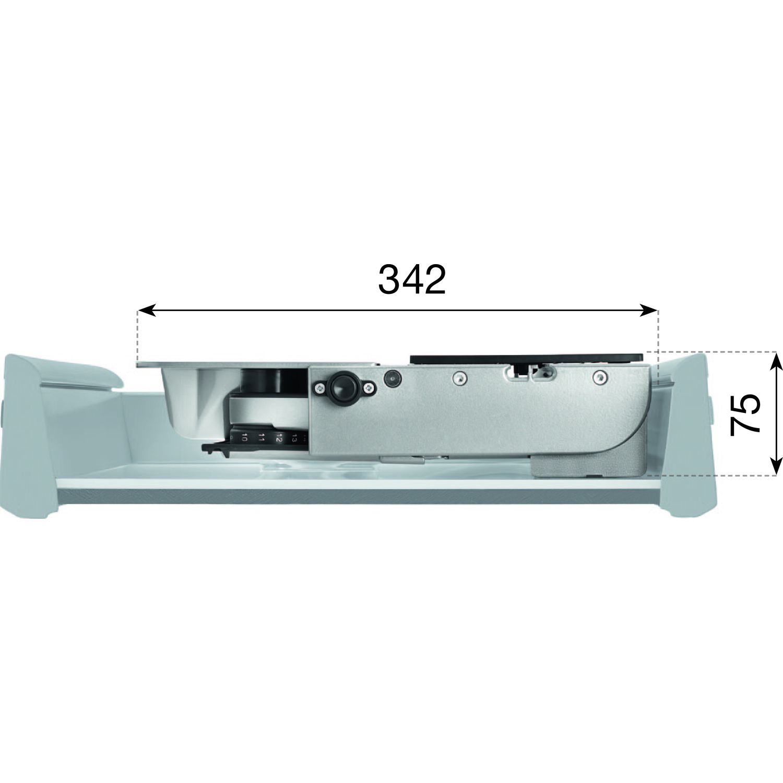 RITTER Metall-Einbau-Allesschneider AES 62 SR silbermetallic, rechts