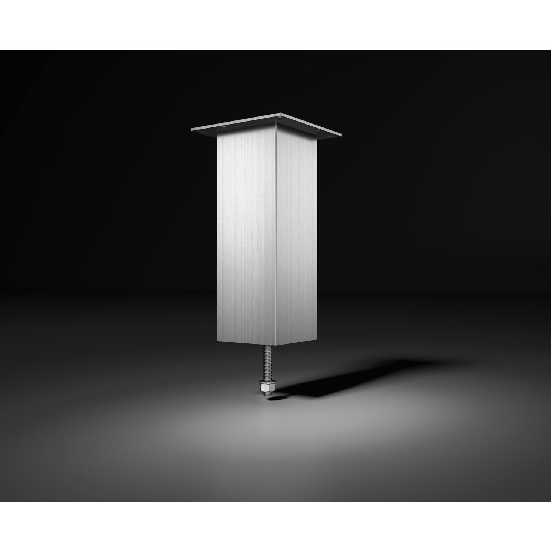 barkonsole jumbo h he 230 mm aluminium edelstahl effekt. Black Bedroom Furniture Sets. Home Design Ideas