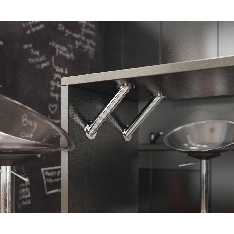 konsole brindisi schr g 45 mm h he 230 mm edelstahl. Black Bedroom Furniture Sets. Home Design Ideas