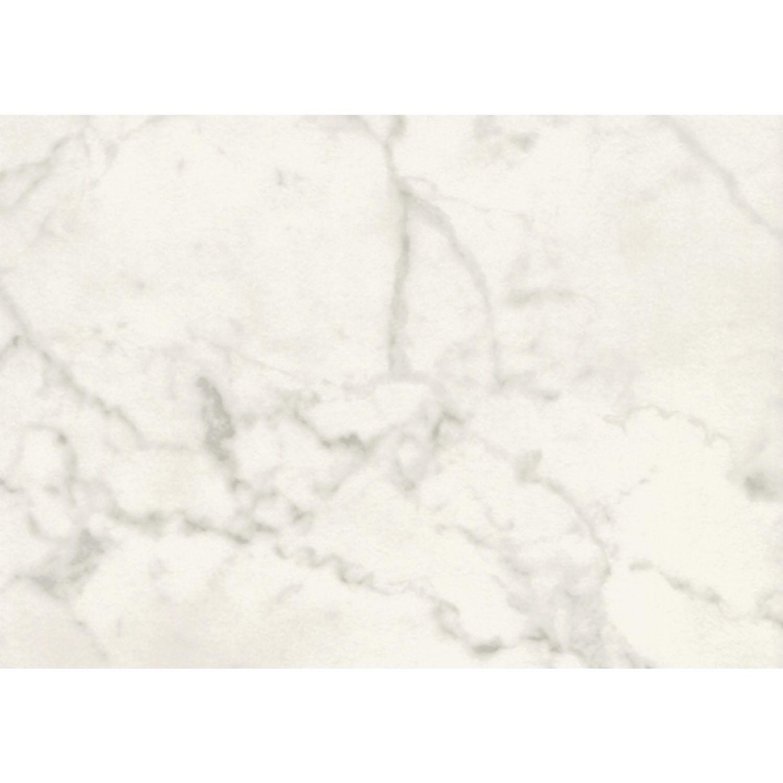 Tischplatte holzformpressteil 600 x 600 mm dekor white marmor for Marmor tischplatte versiegeln