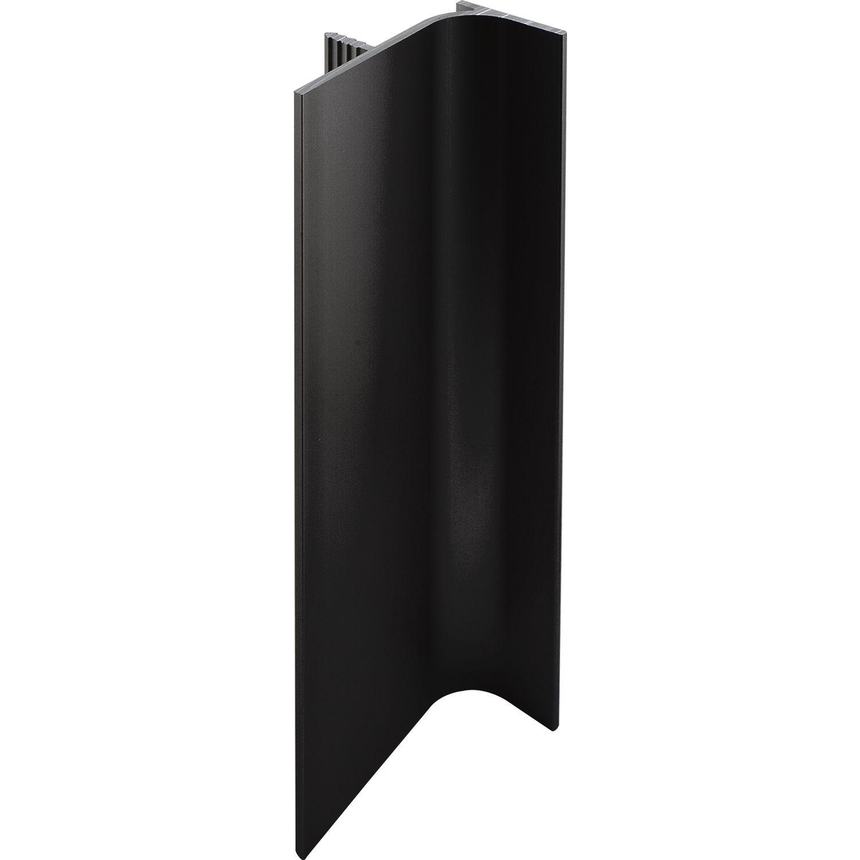 profil l pionowy d 5000mm wys 46mm czarny. Black Bedroom Furniture Sets. Home Design Ideas