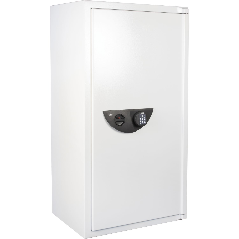 burg w chter office line 106 e sicherheitsschrank 1486 x 780 x554mm lichtgrau. Black Bedroom Furniture Sets. Home Design Ideas