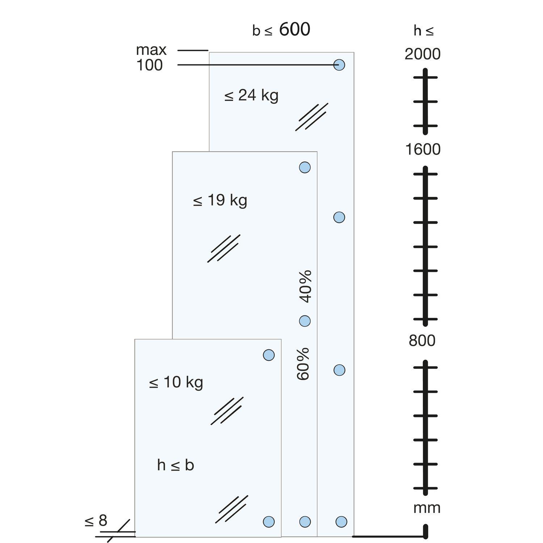 334gg81 N Ganzglas Vitrinen Scharnier Glas 5 8 Mm Ow 250 Vernickelt