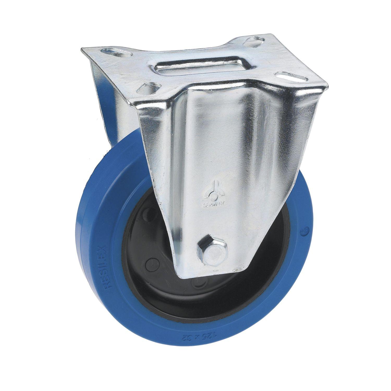 4 Rollen Bockrolle u Lenkrolle Schwarz 40 mm 20 kg neu