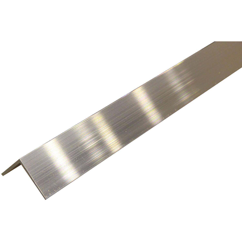 2 mtr. 2000 mm +0//- 3 mm B/&T Metall Aluminium Winkel 15 x 15 x 2 mm aus AlMgSi0,5 F22 schweissbar eloxierf/ähig L/änge ca