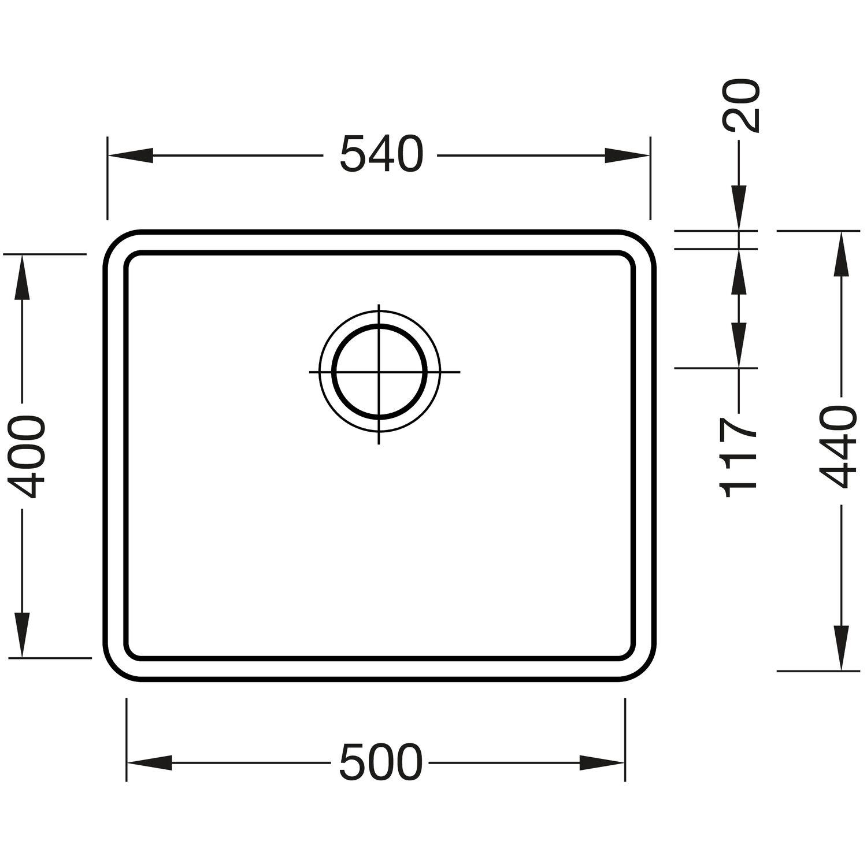 Solido Unterbau Spule Kombino 50 Edelstahl