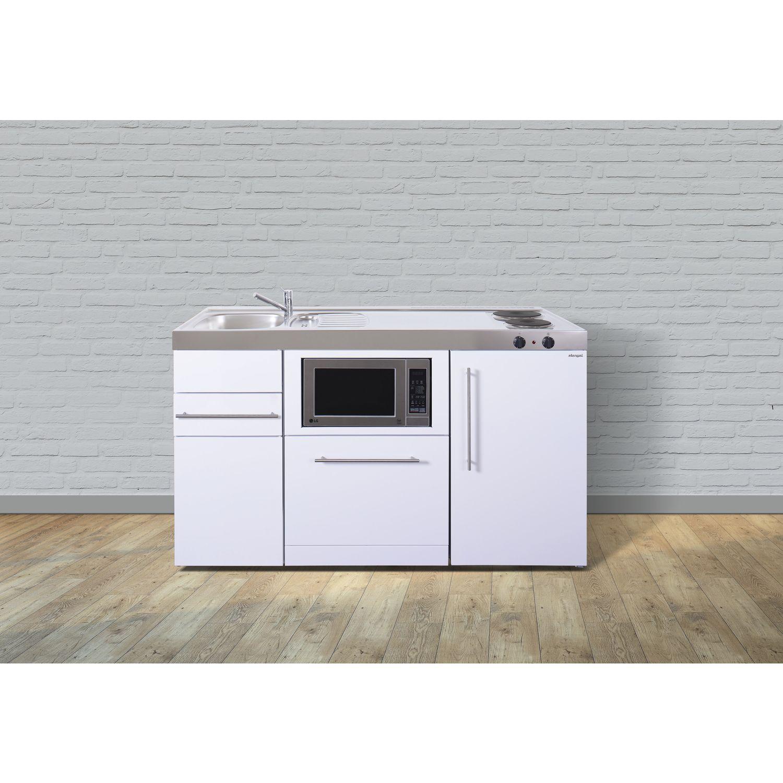 Klein Küche kleinküche mpgsm 150 herdteil links 150 cm gussplatte mikro