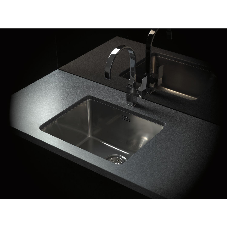SOLIDO 3D Spüle Kansas 40x40 Edelstahl