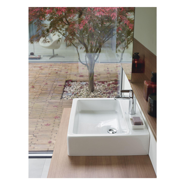 duravit vero 70 aufsatzwaschtisch 70 x 47cm wei. Black Bedroom Furniture Sets. Home Design Ideas