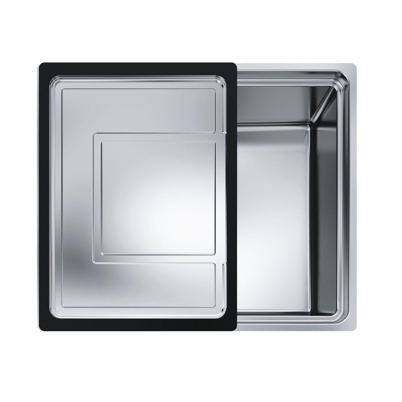 FRANKE 2D Spüle CEX 210-50, 55 x 46,5 cm, 18/10 | {Spülbecken edelstahl franke 37}