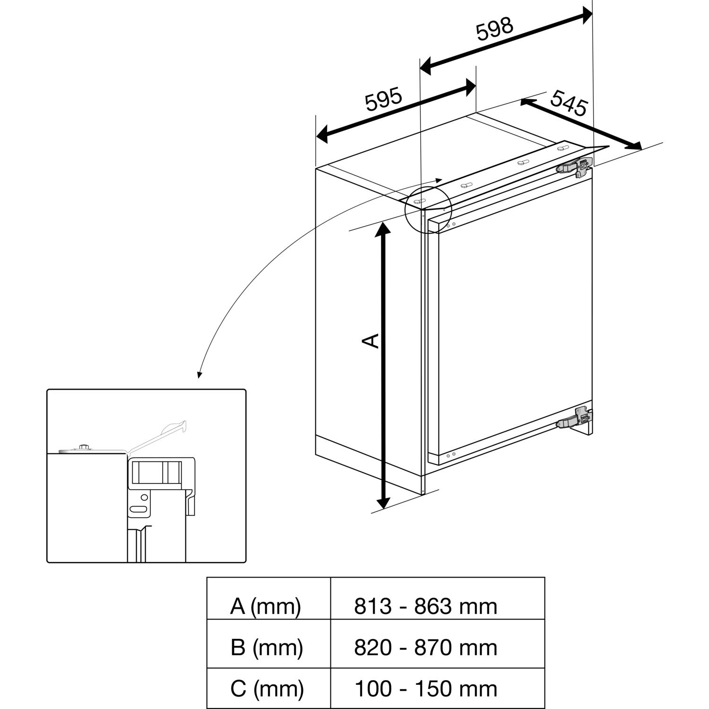 Teka Unterbau Khlschrank Tfi3 130 D Mit Gefrierfach Integrierbar Tfi Wiring Diagram