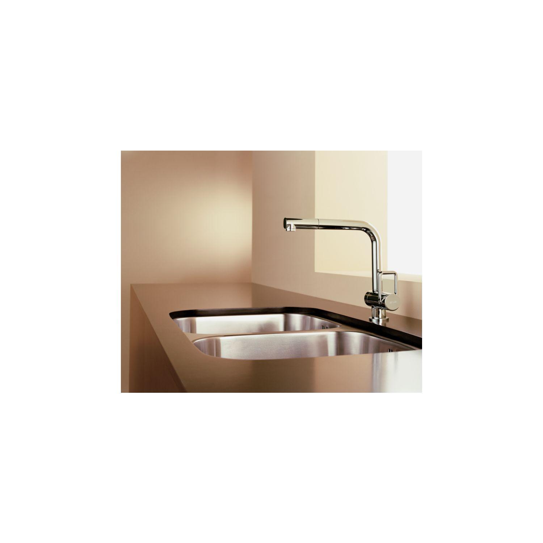 arwa k chenarmatur twin mit ausziehbarem auslauf druckfest chrom. Black Bedroom Furniture Sets. Home Design Ideas