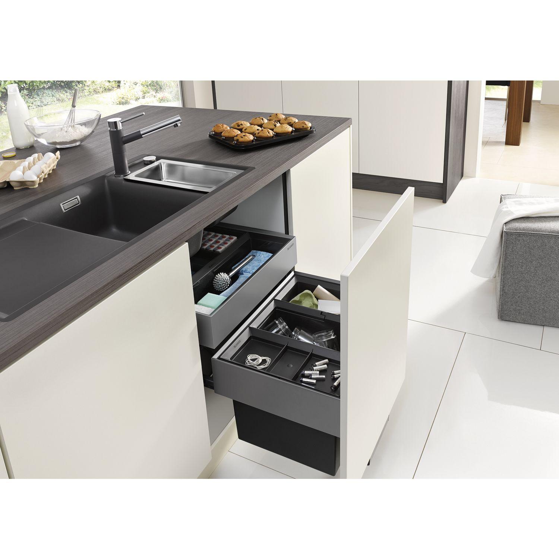 blanco abfallsammler select 60 2 1x30 1x19 l eimer organisationsschublade. Black Bedroom Furniture Sets. Home Design Ideas