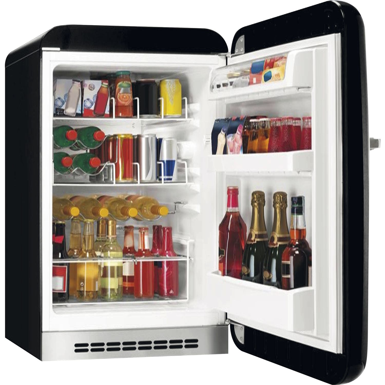 SMEG Kühlschrank Happy Homebar FAB10HLR Linksanschlag, rot