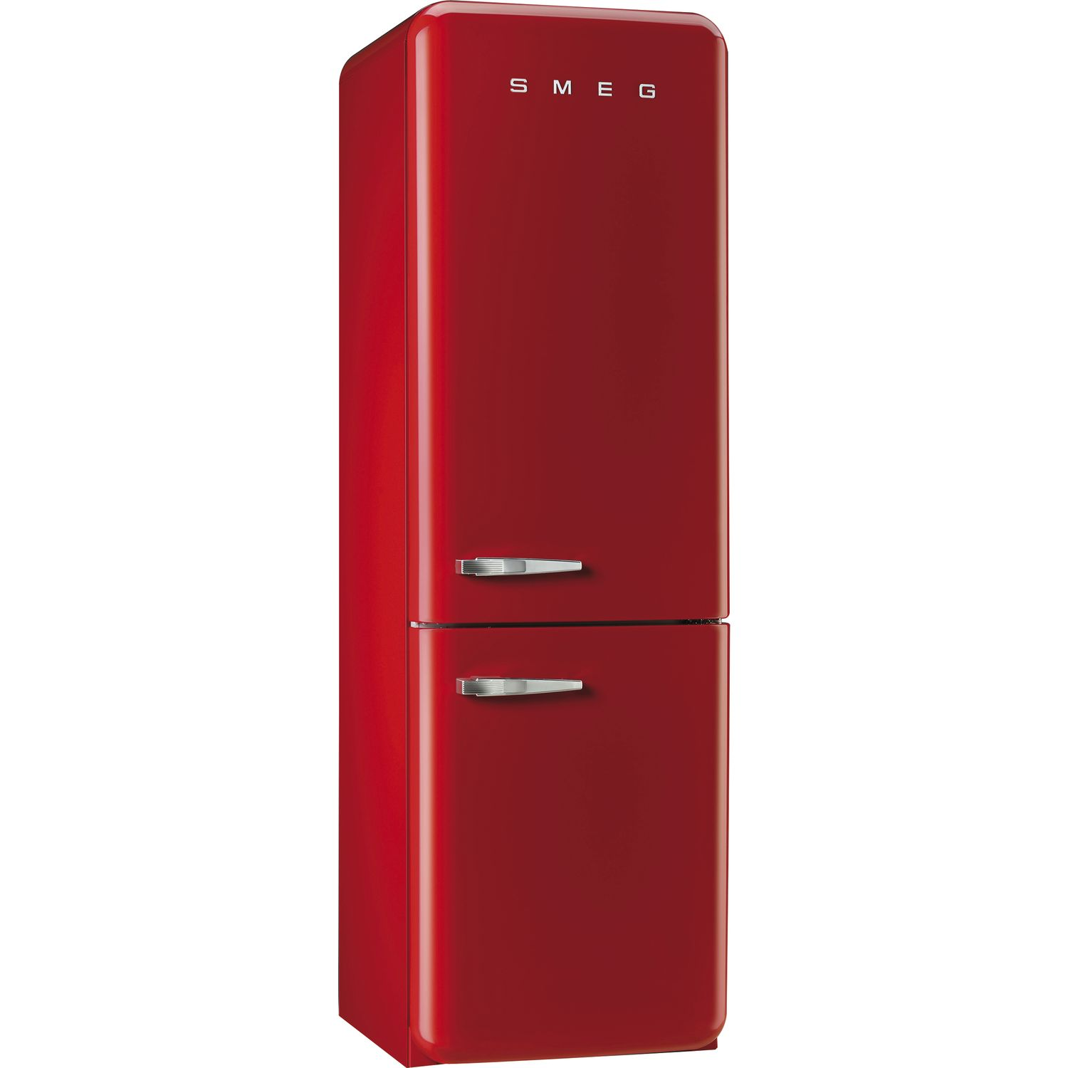 smeg stand k hl gefrierkombination fab32lrn1 nofrost a rot ta links. Black Bedroom Furniture Sets. Home Design Ideas