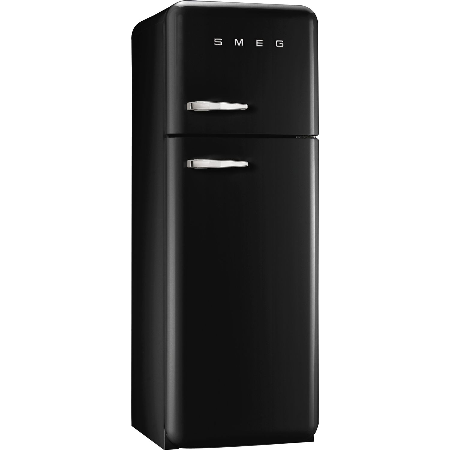 smeg k hl gefrierkombination fab30lne1 a schwarz linksanschlag. Black Bedroom Furniture Sets. Home Design Ideas