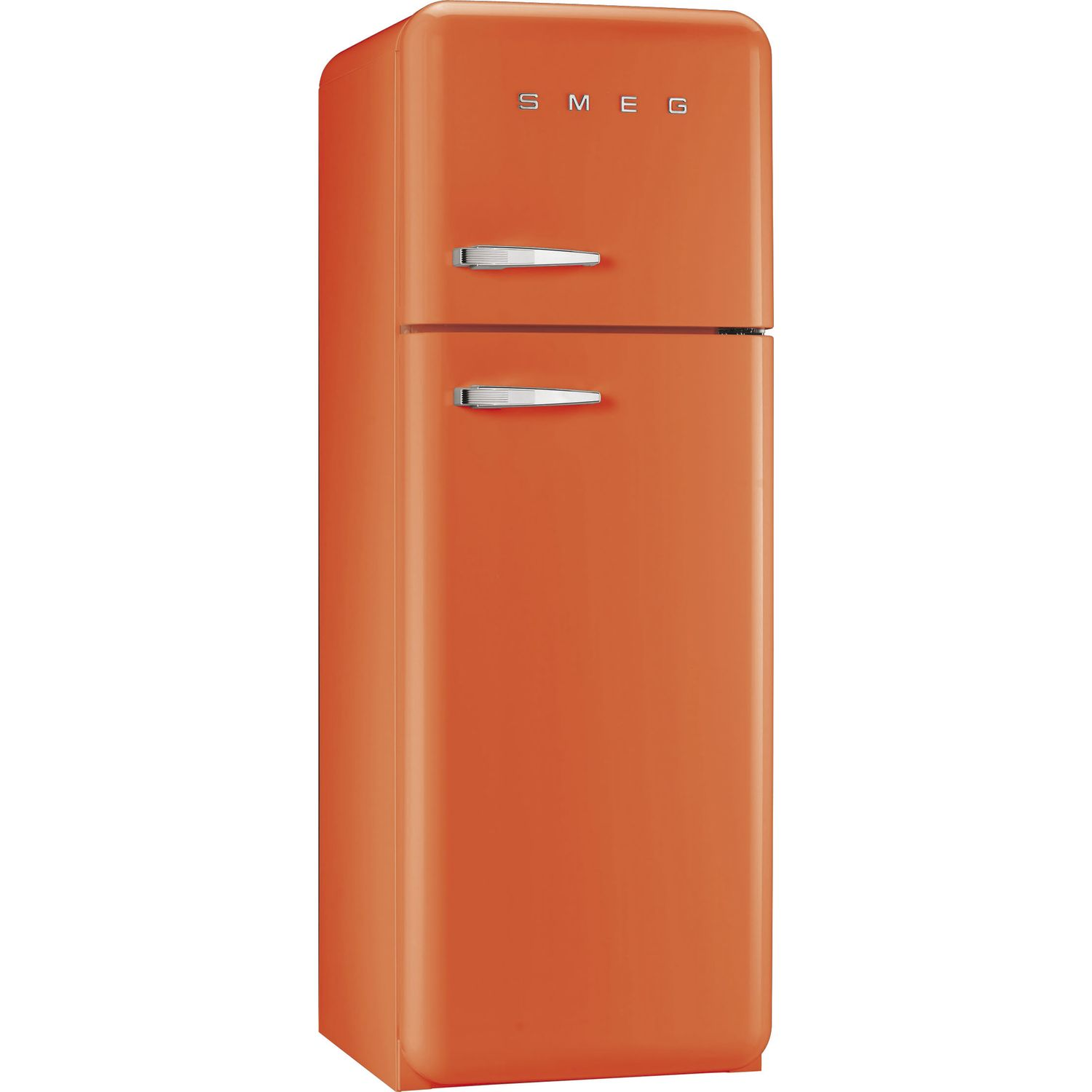 smeg standk hlschrank m gefrierraum fab30lo1 a orange linksanschlag. Black Bedroom Furniture Sets. Home Design Ideas