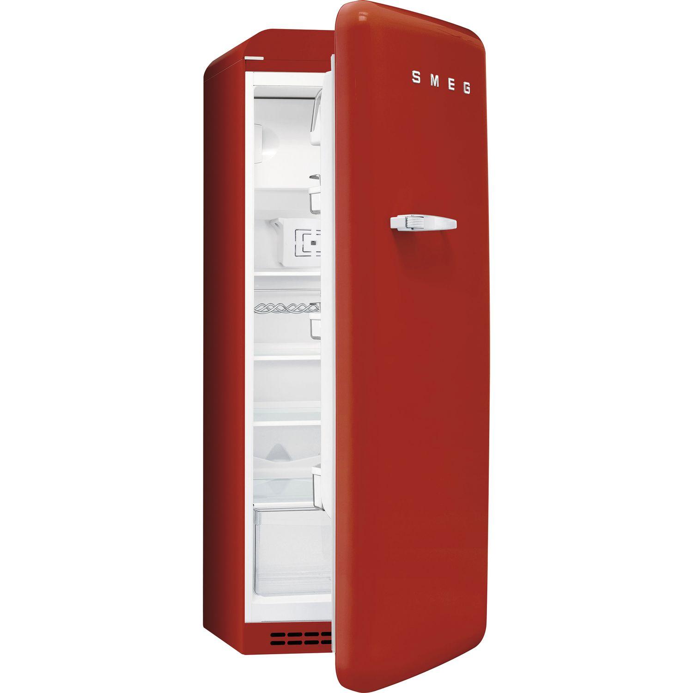 SMEG Kühlschrank FAB28RR1 Rechtsanschlag, rot