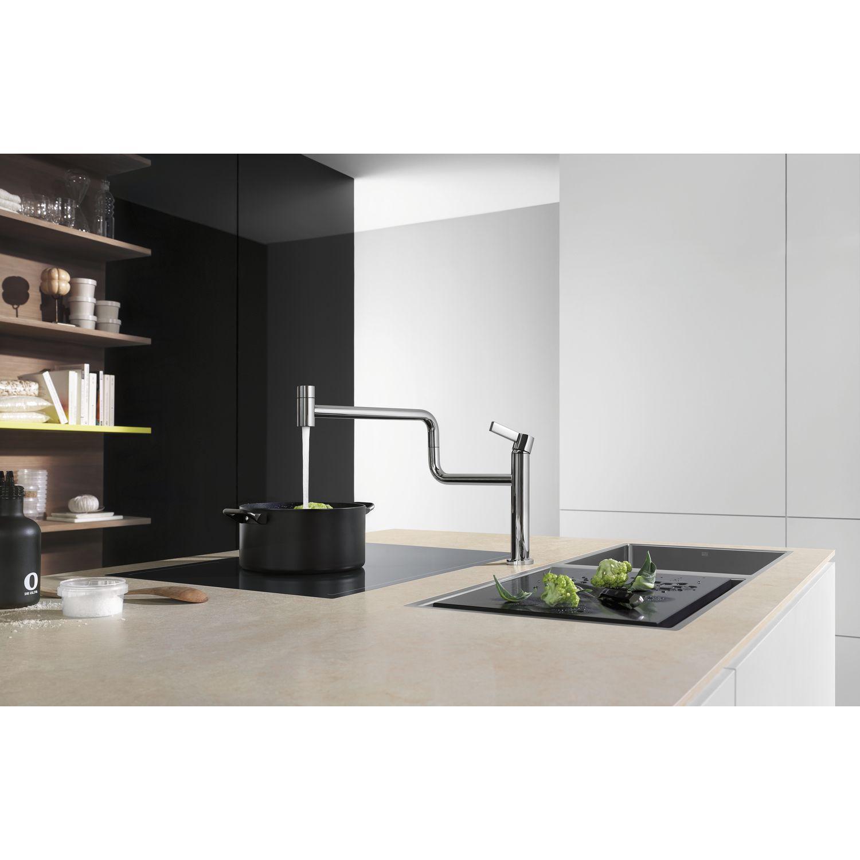 dornbracht k chenarmatur tara ultra pivot druckfest chrom. Black Bedroom Furniture Sets. Home Design Ideas