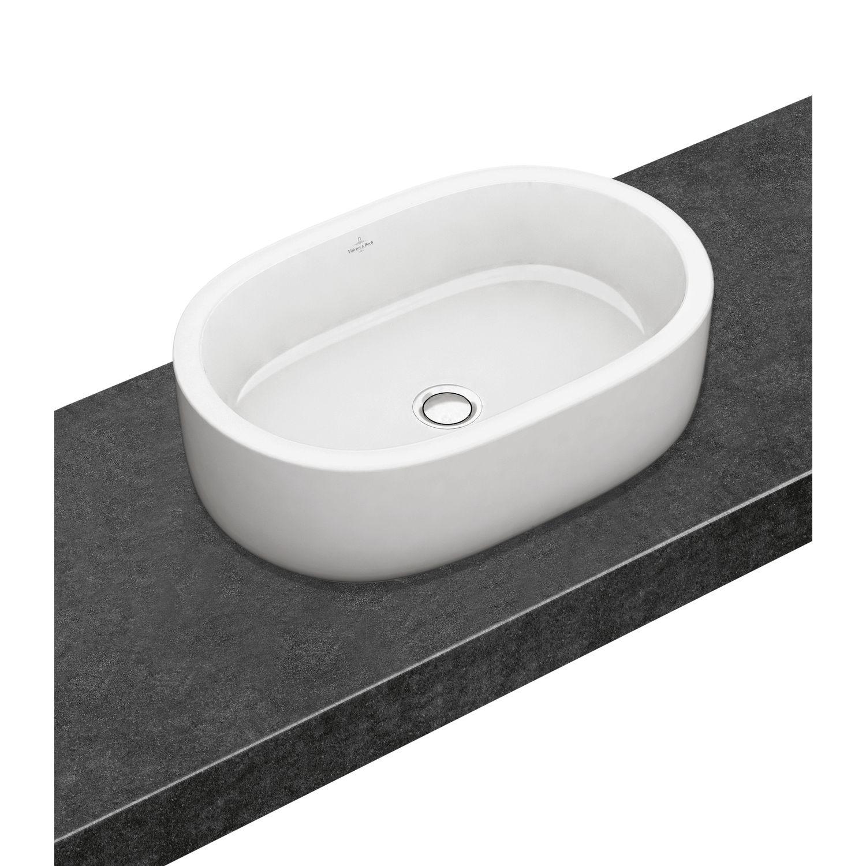 waschtisch oval aufsatz finest montageart with waschtisch. Black Bedroom Furniture Sets. Home Design Ideas