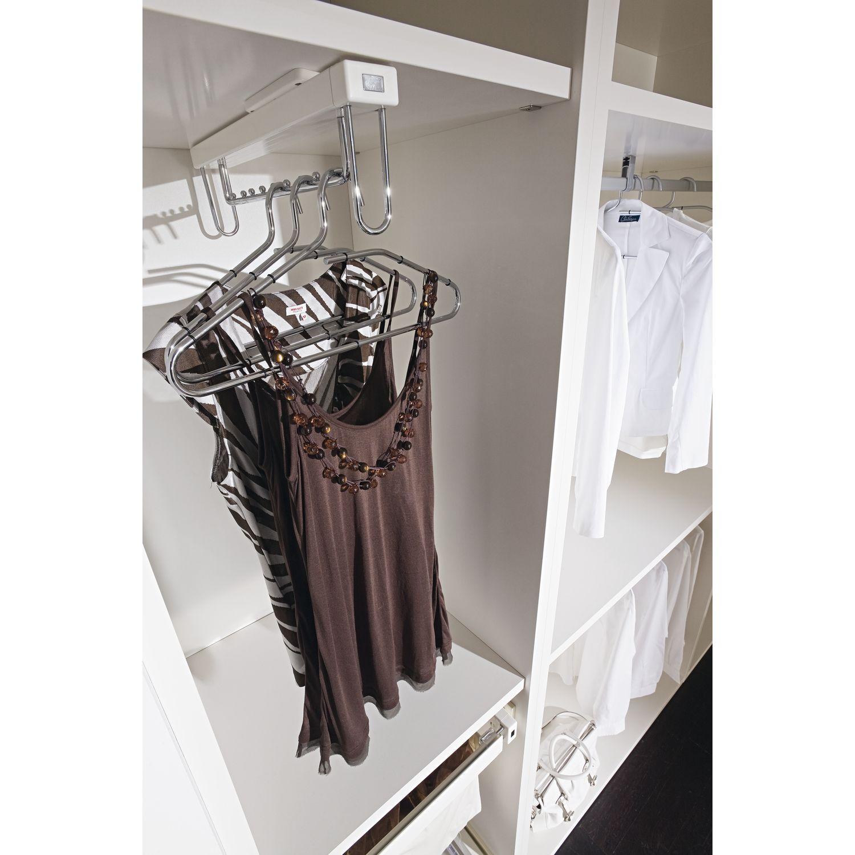 elite hakenleiste ausziehbar aluminium silberfarbig. Black Bedroom Furniture Sets. Home Design Ideas