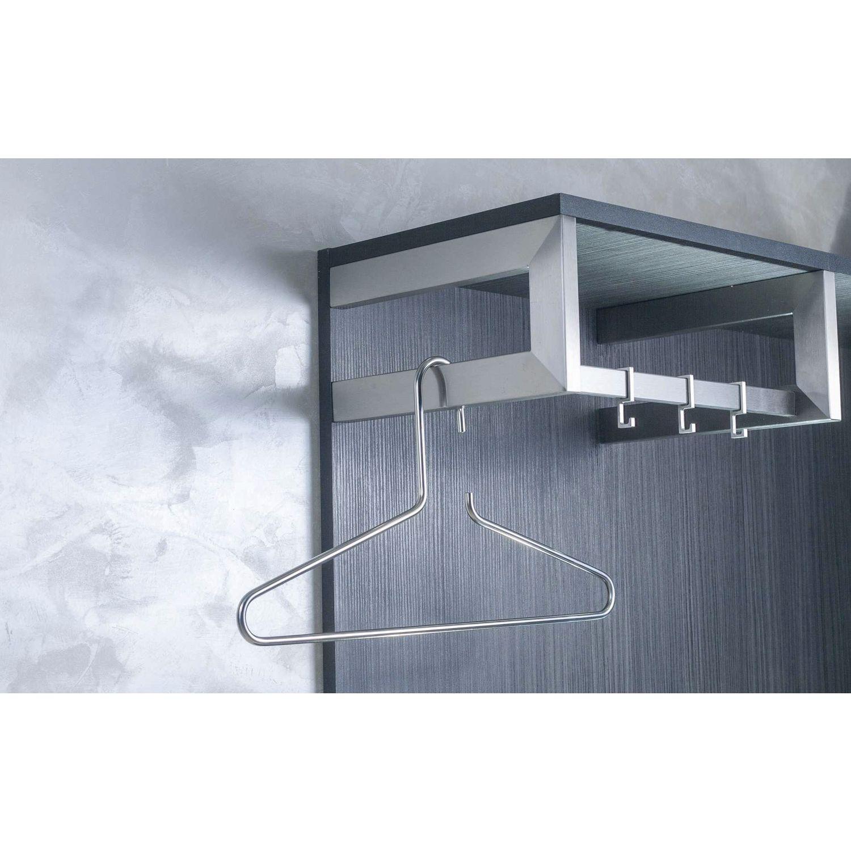 nano garderobenb gel rechts b 300mm h 150mm edelstahl geb rstet. Black Bedroom Furniture Sets. Home Design Ideas